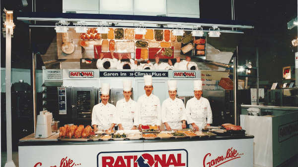 1997: Invention of the RATIONAL ClimaPlus Combi®