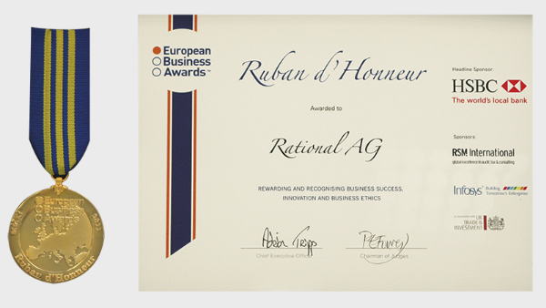 "European Business Award ""Ruban D`Honneur 2011"