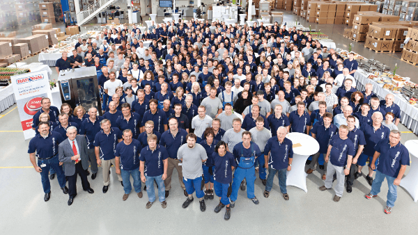 2006: RATIONAL - More than 1,000 employees