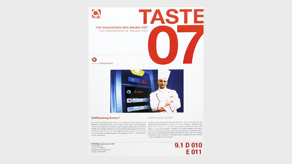 TASTE 07, TOP Innovation at ANUGA