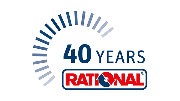 Company anniversary - 40 years of RATIONAL